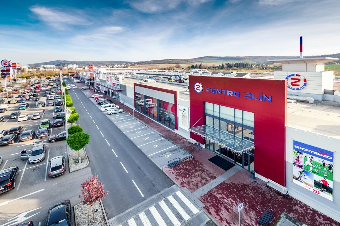 OC Centro Zlín - Malenovice