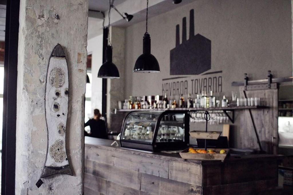 Kavárna TOVÁRNA